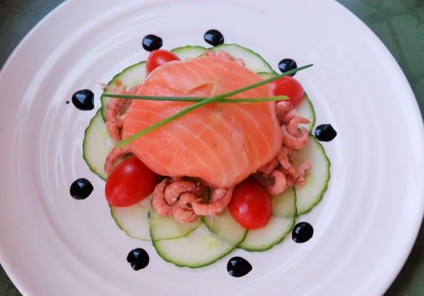 Ballotine au saumon