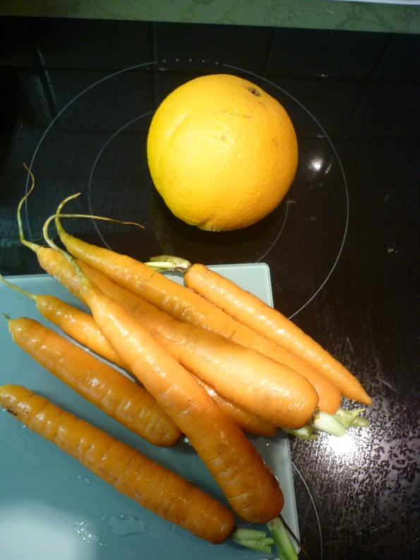 Carottes aux sirop d'érable (2)