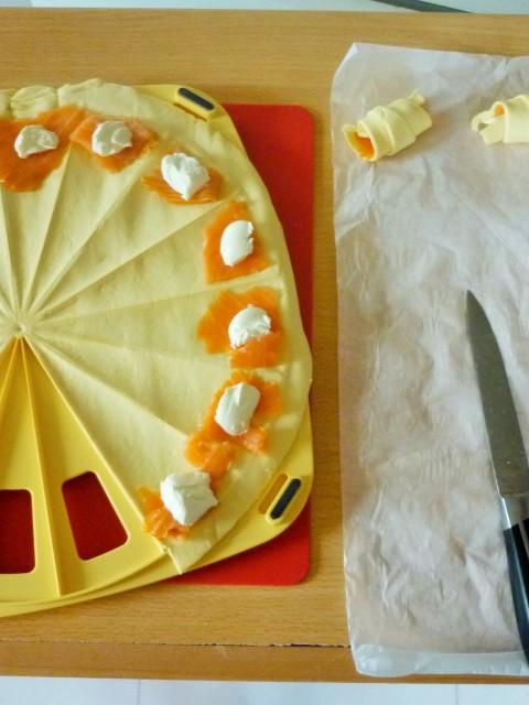 Croissant au saumon (2)