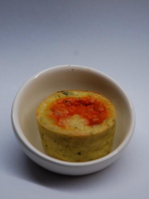 Moelleux aux courgette et aux poivrons (1)