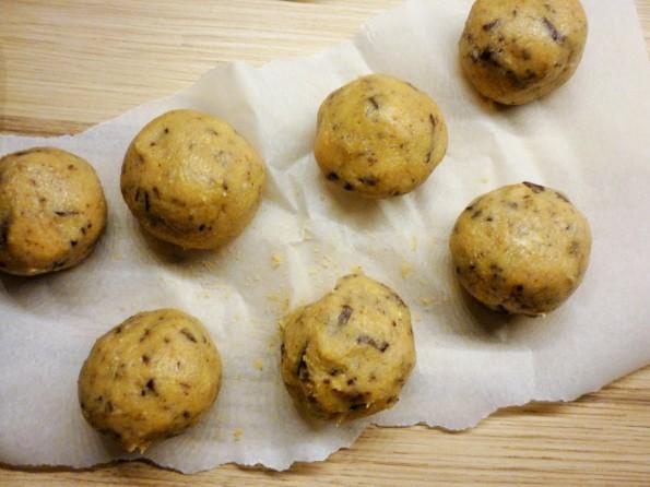 Boules cookies