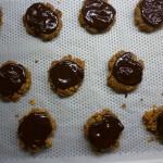 Biscuits aux cornflakes et chocolat