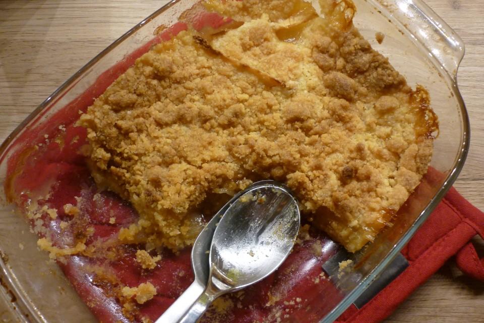 Crumble aux pommes (4)
