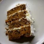 Délicieux Carrot cake