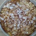 Gâteau moelleux poire-amandes
